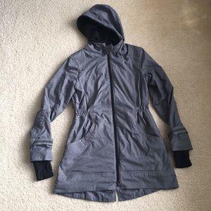 Lululemon grey hooded anorak jacket